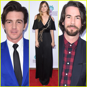 Debby Ryan Joins Drake Bell & Jerry Trainor at 'Cover Versions' Premiere