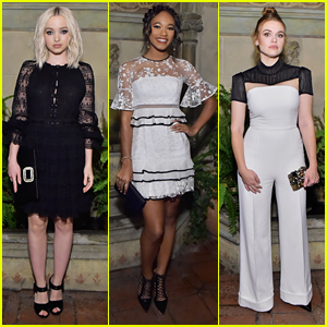 Dove Cameron Celebrates Fashion & Film at Vanity Fair's 'Phantom Thread' Event