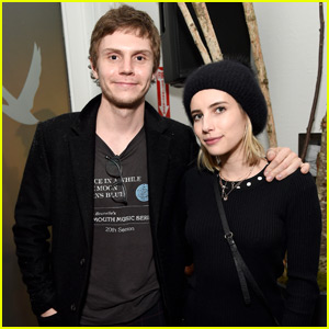 Evan Peters Debuts Movie at Sundance with Emma Roberts By His Side!