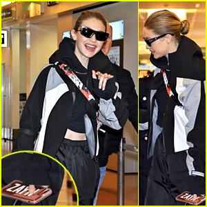 Gigi Hadid Is Using a Phone Case Featuring Her Boyfriend Zayn Malik's Name!