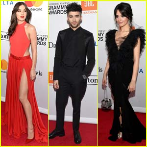 Hailee Steinfeld & Camila Cabello Go Glam for Pre-Grammys Party!