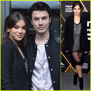 Hailee Steinfeld Hangs Out with James Bay Ahead of the Grammys