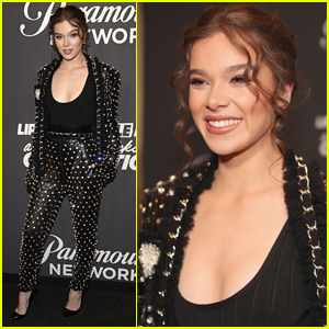 Hailee Steinfeld Suits Up for 'Lip Sync Battle' Michael Jackson Celebration!