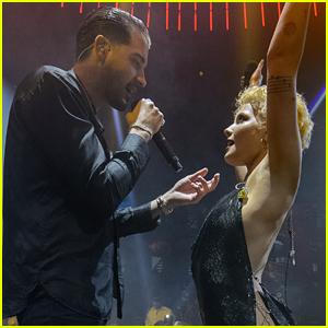 Halsey & Boyfriend G-Eazy Ring in 2018 in Miami!