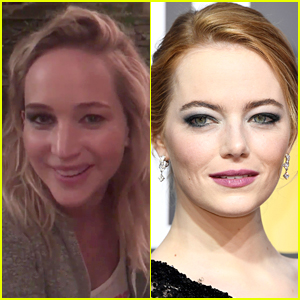 Emma Stone Asked Jennifer Lawrence to Attend Golden Globes Parties, Then Bailed!