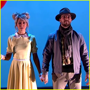 Lindsey Stirling Shares Best Of 'DWTS' Video With Mark Ballas
