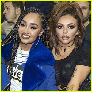 Little Mix's Jesy Nelson & Leigh-Anne Pinnock Attend NBA London Game