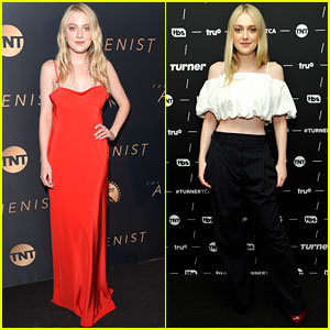 Dakota Fanning Rocks Two Different Looks While Celebrating 'The Alienist' Premiere