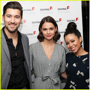 Maia Mitchell Hosts Special Saving Innocence Benefit!