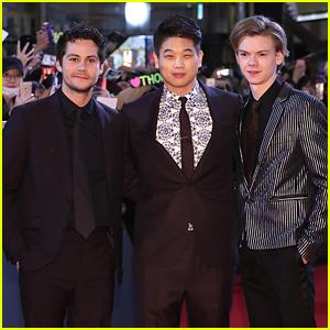 Dylan O'Brien, Thomas Brodie Sangster & Ki Hong Lee Bring Final 'Maze Runner' Film To Korea