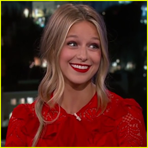Melissa Benoist Opens Up About Playing Supergirl on 'Jimmy Kimmel Live'!