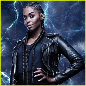 Black Lightning's Nafessa Williams Dishes on Anissa Coming Into Her Powers