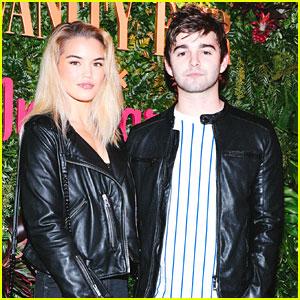 Paris Berelc & Jack Griffo Couple Up For Vanity Fair x Instagram Pre-Golden Globes Party