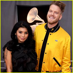 Pentatonix's Kirstin Maldonado & Scott Hoying Step Out at Grammys 2018 Together