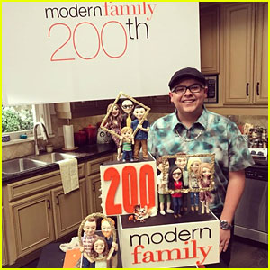 Rico Rodriguez Celebrates Modern Family's 200th Episode With Heartfelt Post