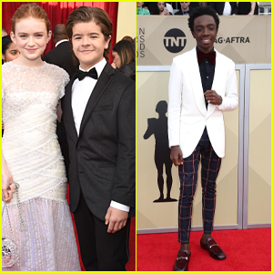 Sadie Sink Looks So Pretty at SAG Awards 2018!