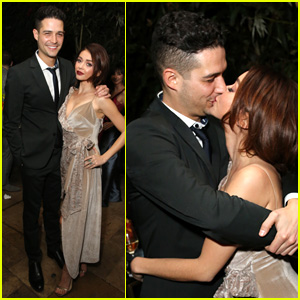 Sarah Hyland Plants a Kiss on Wells Adams in Cute Photos!