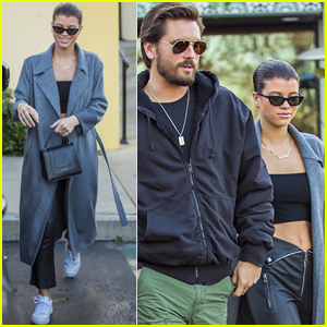 Sofia Richie Bares Her Abs on Date Night with Scott Disick