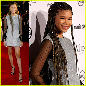 A Wrinkle In Time's Storm Reid Got Sage Life Advice From Oprah Winfrey
