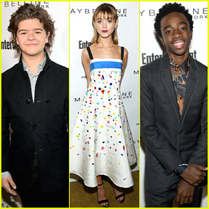 The 'Stranger Things' Kids Take Over Entertainment Weekly's Pre-SAG Party