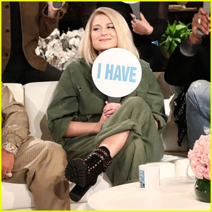 Meghan Trainor Spills All in Revealing 'Never Have I Ever' Game - Watch Now!