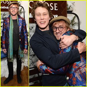 Tom Felton Wears Bright & Bold Jacket to 'Ophelia' Sundance Premiere