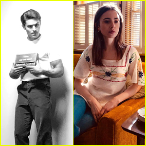 Zac Efron & Lily Collins Both Offer First Looks at Their 'Extremely Wicked' Characters