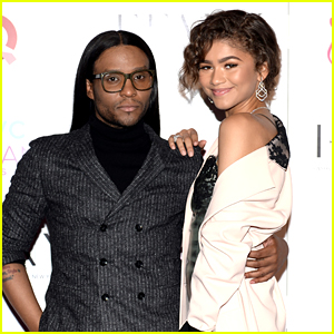 Zendaya's Stylist Law Roach Calls Her His 'Annoying Little Sister' & Reveals His Favorite Look of Hers Yet