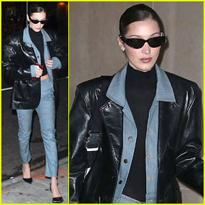 Bella Hadid Sports Denim-on-Denim Look While Out in NYC