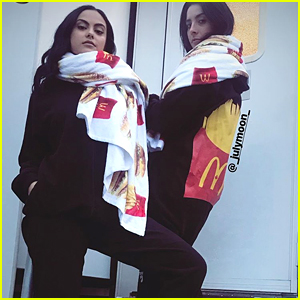 McDonalds Canada Gifted Riverdale's Camila Mendes With A Ton of Swag & McNuggets!