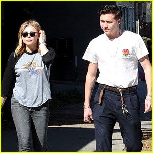 Brooklyn Beckham Joins Chloe Moretz for Super Bowl Sunday Lunch Date
