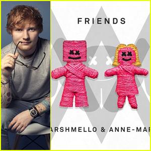 Ed Sheeran Is Loving Marshmello & Anne-Marie's New Song 'Friends' - Listen Here!