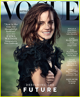 Emma Watson Challenges 'Vogue Australia' Readers to Make A Small Change Because It 'Can Make a Huge Difference'
