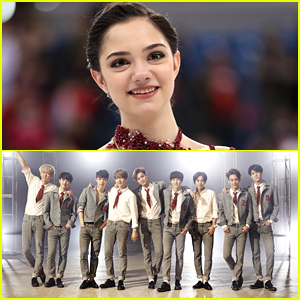 Figure Skater Evgenia Medvedeva Will Get To Meet Fave Band EXO Ahead of Winter Olympics Closing Ceremony