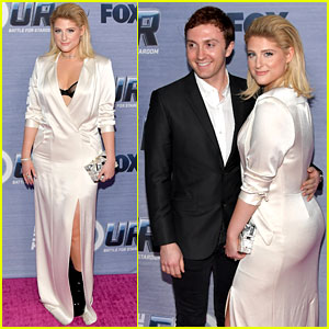Meghan Trainor Gets Support From Fiance Daryl Sabara at 'The Four' Season Finale Viewing Party