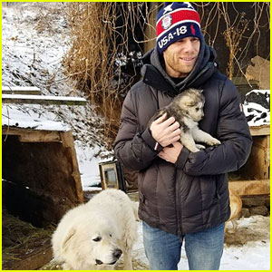 Olympian Gus Kenworthy Rescues Pup From South Korean Dog Meat Farm