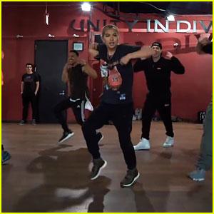 Hayley Kiyoko Drops 'Curious' Marian Hill Remix, Surprises Dance Class