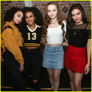 Knight Squad's Lilimar, Daniella Perkins & Savannah May Celebrate The Superbowl