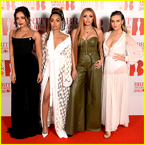 Little Mix Sizzle on BRIT Awards 2018 Red Carpet