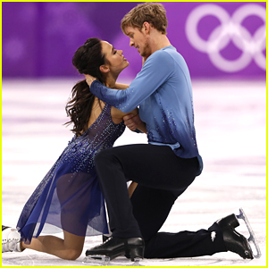 Olympic Ice Dancers Madison Chock & Evan Bates React To Their Fall: 'We'll Go On & Be Okay'