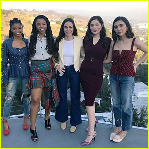 Rowan Blanchard, Emma Kenney & Chloe x Halle Talk #MeToo Movement - Watch!