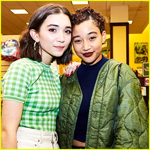 Rowan Blanchard Signs Copies of 'Still Here' At New York Book Signing