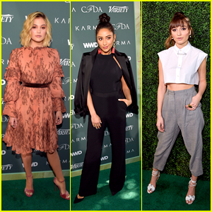 Olivia Holt, Shay Mitchell, Daya & More Look Glam at Runway to Red Carpet Luncheon!