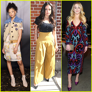 Storm Reid, Inanna Sarkis & Chloe Lukasiak Take Over Fashion Week in NYC