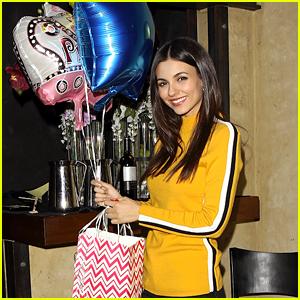 Victoria Justice Celebrates 25th Birthday With Boyfriend Reeve Carney