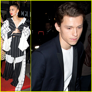 Zendaya Attends a Post-BAFTAs Party with Tom Holland!