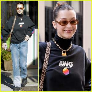 Bella Hadid Spends the Day Running Errands in NYC