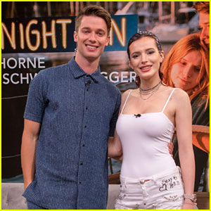 Bella Thorne & Patrick Schwarzenegger Promote 'Midnight Sun' in Miami!