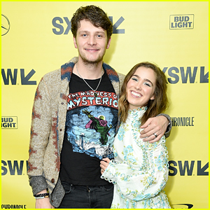 Brett Dier Supports Haley Lu Richardson at SXSW Premiere!