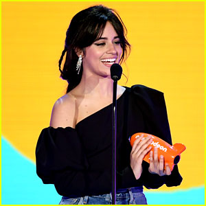Camila Cabello Accepts an Award at Kids' Choice Awards 2018!